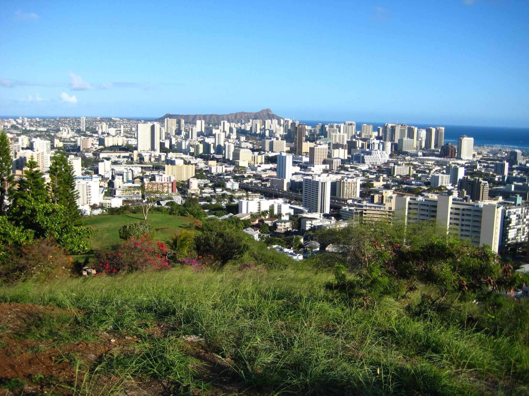 Honolulu_From_Punchbowl