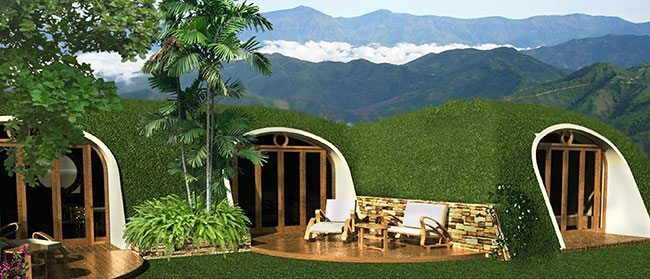 pre fabricated hobbit house built on your homestead in less than three days homestead guru. Black Bedroom Furniture Sets. Home Design Ideas