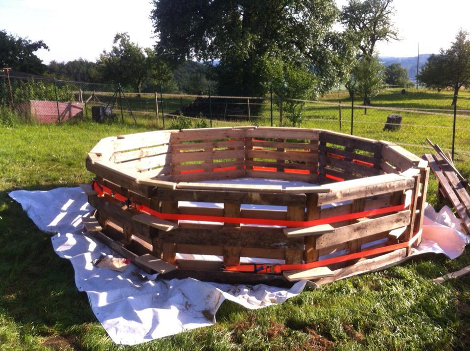 Do It Yourself Swimming Pool For Less Than 100