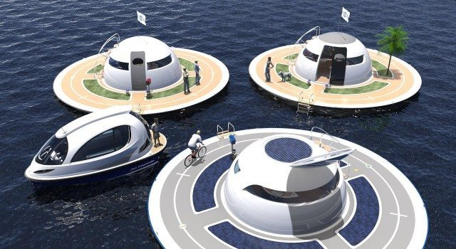 off grid home by jet capsule