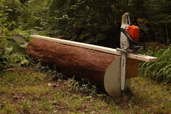 DIY Chainsaw Sawmill - Harvest and