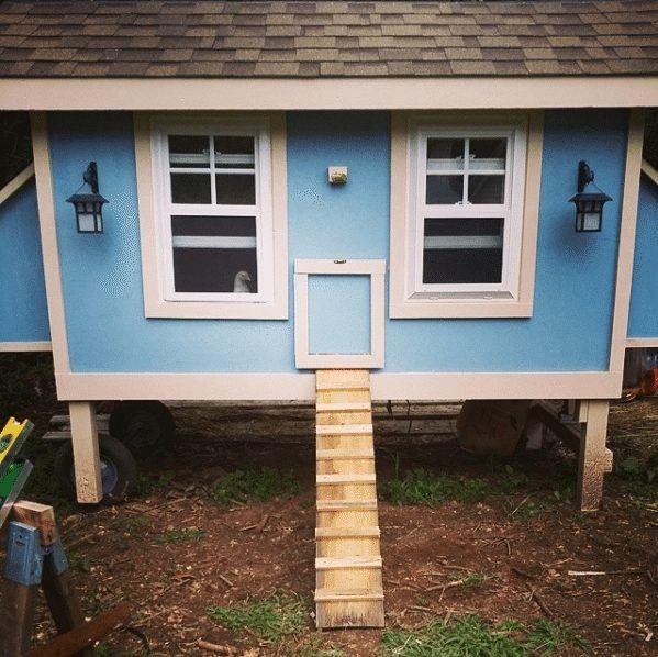 cutest chicken house