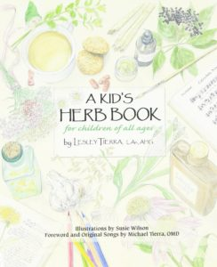 kids herb book