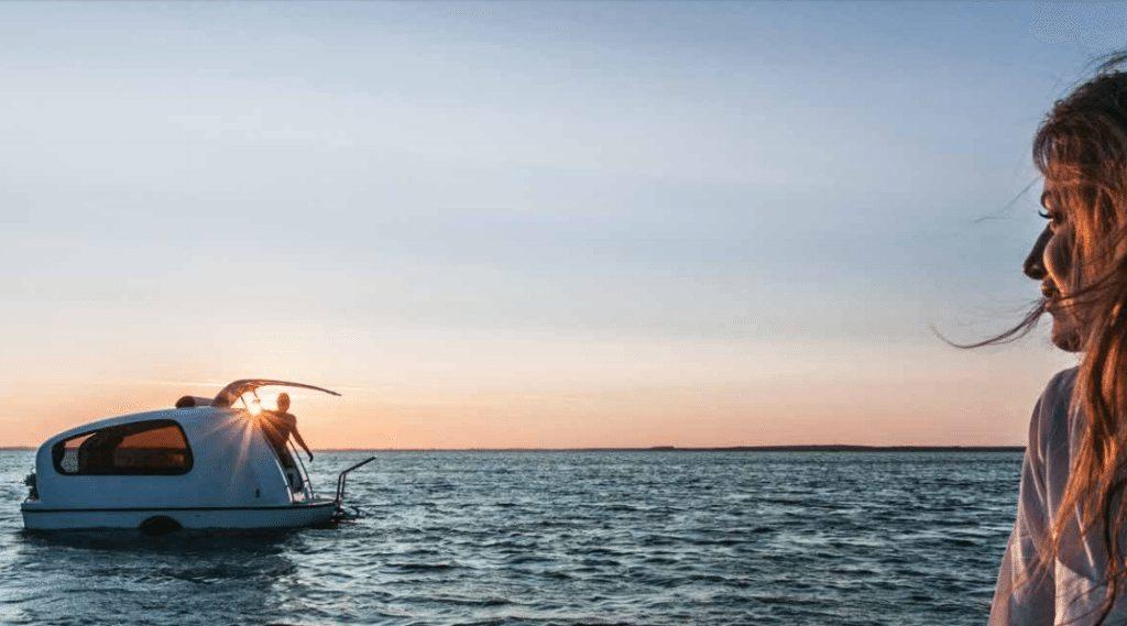 sea lander sunset
