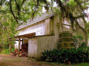 rain water collection cabin