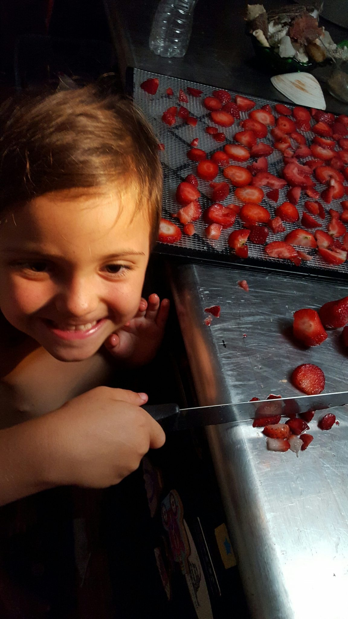 parenting with strawberries
