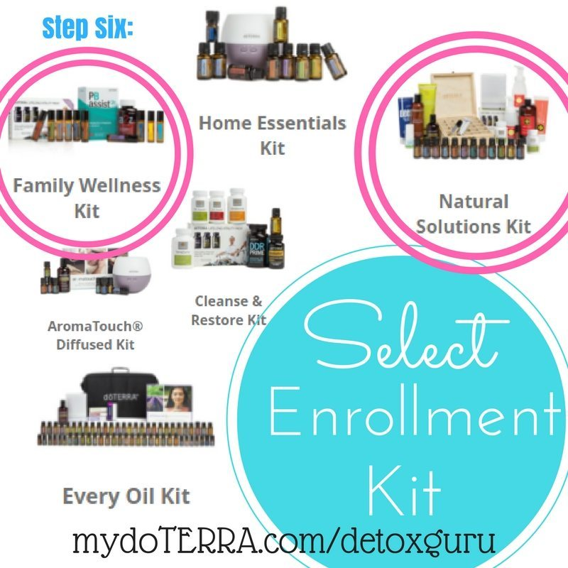 Step Six: Select a Kit to start your essential oils journey!