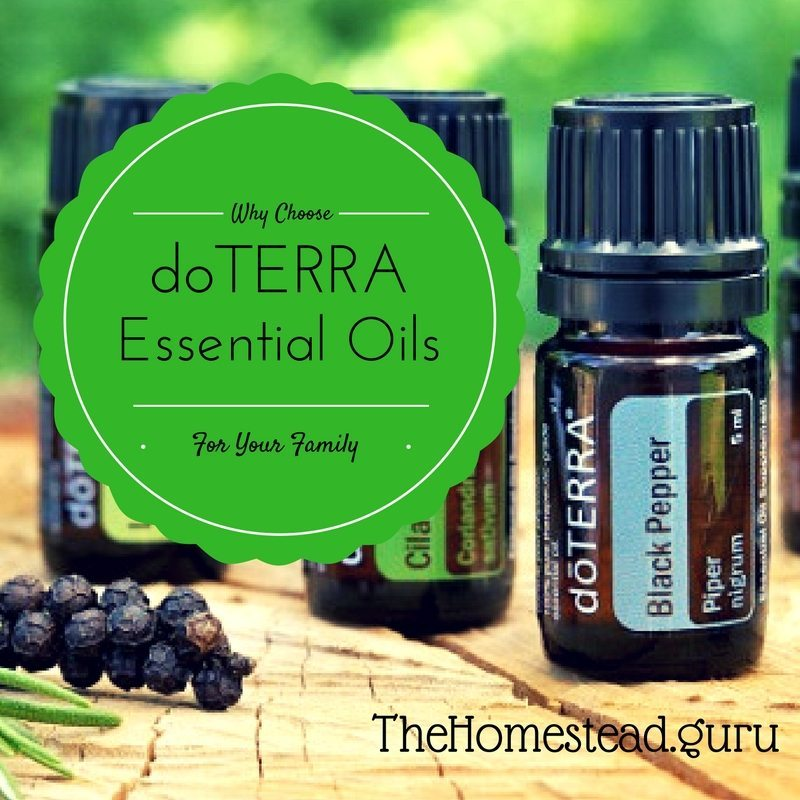 Click Here to See Why We Use doTERRA Essential Oils for our Family.