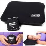 camping gift inflatable pillow