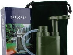 camping gift water filter