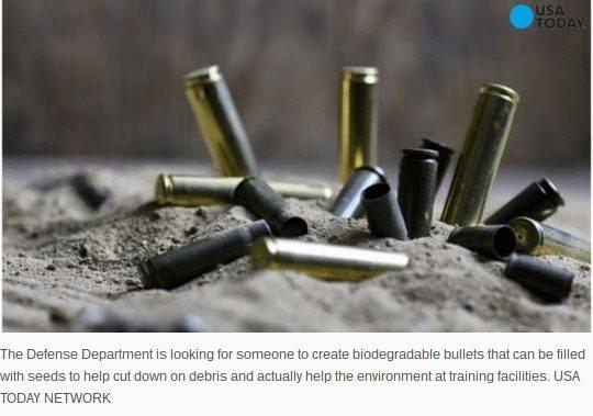 biodegradable bullet