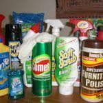 how to clean your home with food items