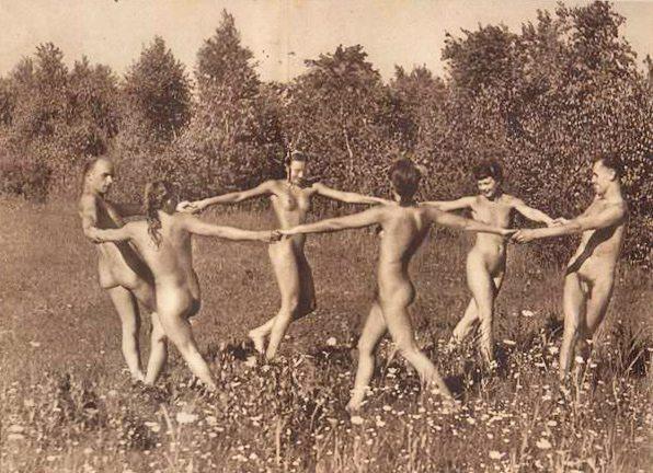 Garden in naked