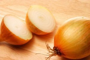yellow onion trick