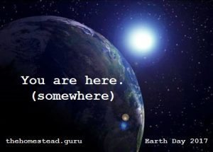 you are here earth day