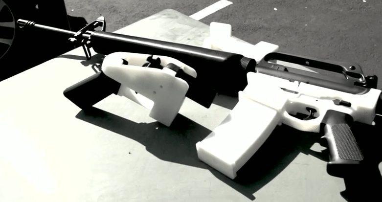 DIY guns ghost guns 3D printed gun