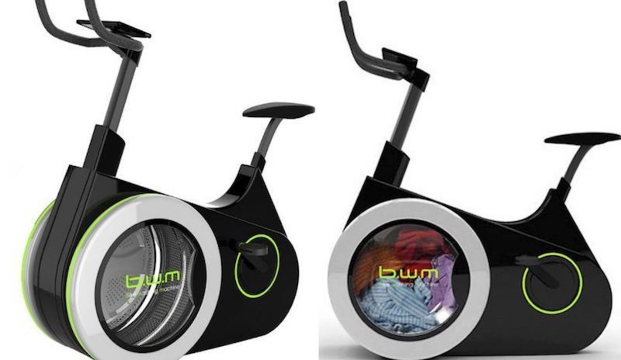 Bike Washing Machine >> Innovative Bike Powered Washing Machines Wash Your Clothes Off The