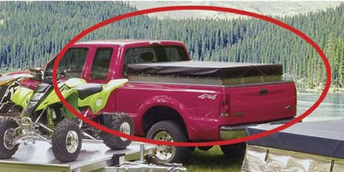 tent truck closed & Turn Your Truck Bed Into a Tent for Camping | Homestead Guru