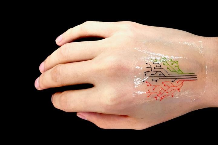3-D printed tattoo