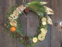 yule wreath tutorial